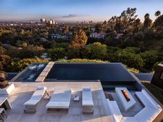Картинки по запросу modern mansion for rent los angeles hills