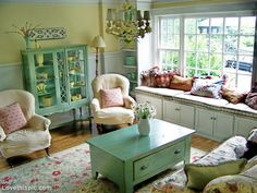 French Cottage Style home style decorate french shabby chic idea cottage living room