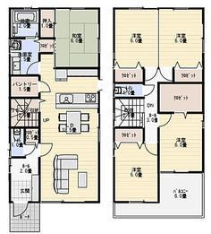 Dream House Plans, Small House Plans, House Floor Plans, Craftsman Floor Plans, Narrow House, Small Buildings, Architecture Plan, My House, Layout