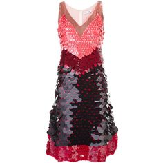 Altuzarra Sequined Colour Block Dress (14.810 RON) ❤ liked on Polyvore featuring dresses, black, altuzarra dress, colour block dress, altuzarra, sequin embellished dress and sequin dresses
