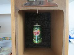 pellet catcher / trap with can
