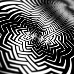 Noyagata in motion  #Myoshka #opart #animation #optical #art #monochrome #geometry #artist #blackandwhite #geometric #spiral