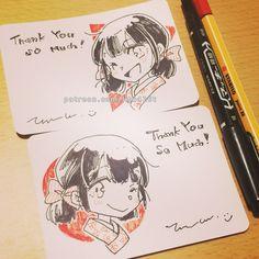 Thank you card for my patrons <3 | Tachibana Lita on Patreon