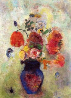 Odilon Redon - Bouquet of Flowers 1912
