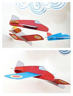 FREE printable paper airplanes mobilee