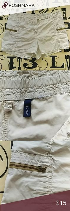 J. Crew shorts Gently used J. Crew shorts missing size tag but measured around size 30 31. J. Crew Shorts Cargos