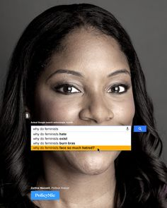 PolicyMic creates a feminist version of the Google autocomplete ads and proves why we still need feminism