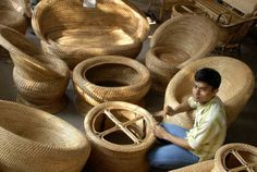assam bamboo craft