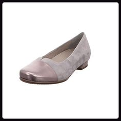 Ara Perugia Damen Ballerina aus Leder in grau Größe 36.5 street /rauch - Damen pumps (*Partner-Link) Ballerina, Partner, Pumps, Flats, Best Deals, Link, Shoes, Style, Fashion