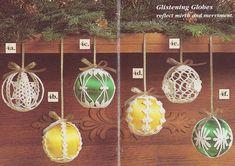 Enchanted Christmas Southmaid Holiday Ornaments Crochet