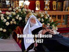 Incorrupt Bodies of Saints part 3 Catholic Saints, Patron Saints, Incorruptible Saints, St Rita Of Cascia, Divine Mother, Bodies, Creepy, History, Youtube