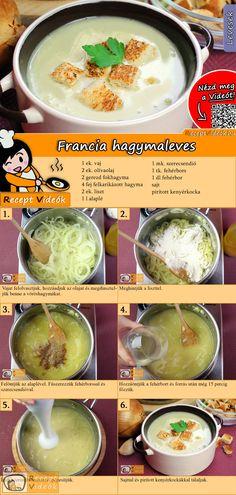 Nem a legegyszerűbb fogás, ám kétségkívül az egyik legfinomabb különlegesség a francia hagymaleves! A Francia hagymaleves recept videóját a kártyán levő QR kód segítségével bármikor megtalálod! :) #FranciaHagymaleves #Francia #Hagymaleves #ReceptVideók #Recept #Leves #LevesRecept