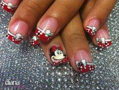 #disney #minnie #nails