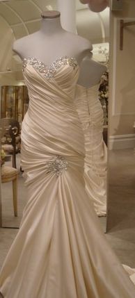 I could never afford Pnina Tornai but this is absolutely stunning! I might have to look for a replica of this dress in the future. :)