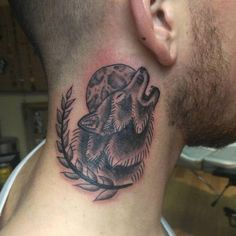 130+ Best Wolf Tattoos for Men (2021) - Howling, Lone, Tribal Designs Animal Tattoos For Men, Wolf Tattoos Men, Tribal Wolf Tattoo, New Tattoos, Tattoos For Guys, Cool Tattoos, Tribal Tattoo Designs, Skull, Wolves