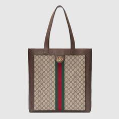 Ophidia soft GG Supreme large tote Gucci Handbags 43e2b7c9dd358
