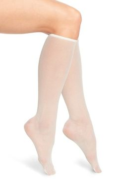 Ankle High Socks, Knee Socks, High Heels, Knee High Stockings, Fishnet Stockings, Pantyhose Outfits, Tan Pantyhose, Sexy Socks, Socks And Heels