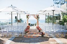 14 San Diego Waterfront Wedding Venues on Here Comes The Guide | Venue pictured: L'Auberge Del Mar