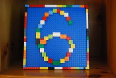 Love simple Lego signs like this #lego #birthday #party