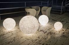 Floor lamp / contemporary / for gardens - EX MOON 1/2/3 - in-es artdesign