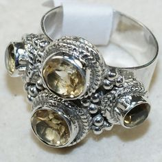 #KejaJewelry on Artfire   #ring                     #Citrine #Sterling #Silver #Ring                    Citrine Sterling Silver Ring                                                  http://www.seapai.com/product.aspx?PID=763565