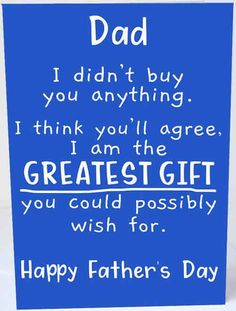 Funny fathers day card message ideas to write - We know that a good laugh is the best medicine. If we are thinking of how to make this fath. Happy Father Day Quotes, Funny Fathers Day Card, Happy Fathers Day, Father's Day Card Messages, Father's Day Specials, Dear Dad, Dad Birthday Card, I Still Love You, Good Good Father