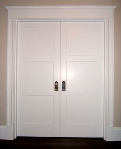 Wonderful Tar Paper Crane   A Remodeling Blog: Trim Out   Interior Door Casing With  Style