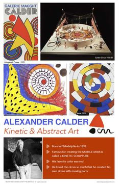 Creative Art Projects for Busy Teachers Alexander Calder, Art Doodle, Art Room Posters, Deep Space Sparkle, Arts Integration, Art Lessons Elementary, Arts Ed, Art Classroom, Art Plastique