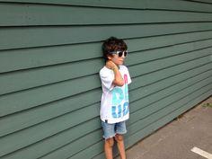 Bondelid shirt & old cut jeans. Last summer days 2014 fashion boy