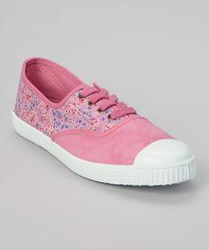 Look what I found on #zulily! Chicle Inglesa Elast Tint Estamp Sneaker - Women by Victoria #zulilyfinds