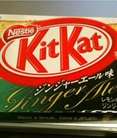 Ginger Ale Kit Kat