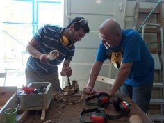 סדנת נגרות לארגונים - פיסול בעץ זית  www.wood-lift.com