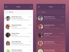 Простой и вместе с тем сложный дизайн списков мобильного UI