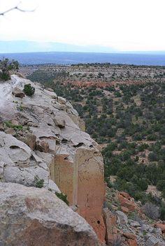 Tsankawi in Bandalier National Monument, New Mexico