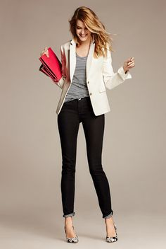 I wear lots of blazers for work.  Always looking for good summer blazer options.