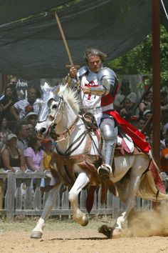 #TheFlashList | Scarborough Renaissance Festival | Waxahachie, TX | Hear the thunder of hooves and the crash of lance on shield at the joust. Details at: http://www.theflashlist.com/dallas/events/2014/04/events/usa-texas-waxahachie-scarborough-renaissance-festival.html