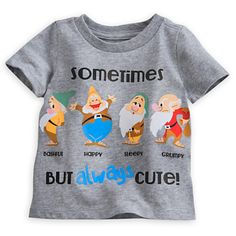 MUST GET!  Seven Dwarfs Tee for Baby