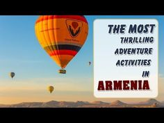 The Most Thrilling Adventure Activities in Armenia Hidden Places, Secret Places, Adventure Activities, Armenia, Dreams, Travel, Viajes, Destinations, Traveling