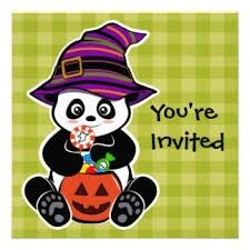 Halloween Panda Store, Youre Invited, Minnie Mouse, Disney Characters, Fictional Characters, Invitations, Halloween, Art, Art Background