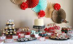 Little Man Guest Dessert Feature {with Caramel Pretzel Cheesecake Shooter Recipe} « SWEET DESIGNS – AMY ATLAS EVENTS