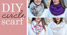 circle scarf DIY