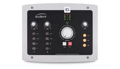 Audient USB Audio Interface - Andertons Music Co. Analog To Digital Converter, Monitor, Instruments, Console Styling, Recording Equipment, Usb, Hybrid Design, Phantom Power, Studio Gear
