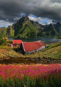 Abandoned barn, Svolvaer, Norway – A place in the fiords that Is Worth Visiting...