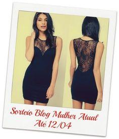 Mulher Atual : Sorteio vestido Sexy!
