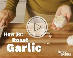 Add depth of flavor to a variety of dishes with the addition of roasted garlic. More garlic techniques: http://www.bhg.com/recipes/how-to/cooking-techniques/roast-garlic/