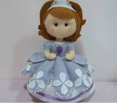 Princesa Sofia com molde