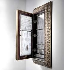 Wall Mounted Jewelry Armoire Mirror   Google Search