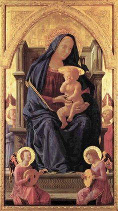 Polyptychon für Santa Maria del Carmine in Pisa by Massacio