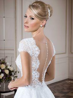 Vestidos de noiva - Coleção Callas (1) Detalhe costas