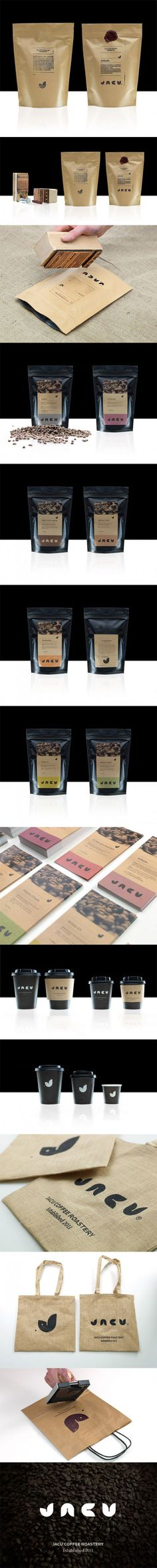 Jacu Coffee Roastery  --Lovely Package--